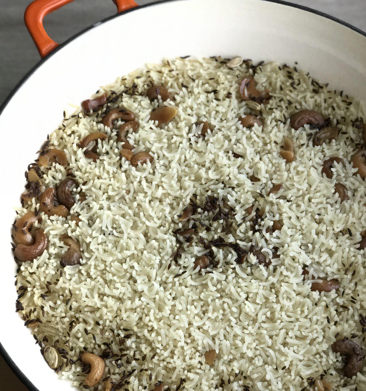 אורז בסמטי עם טאץ׳ ארומטי של שף-שופי